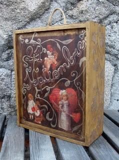 caja de vino decorada - Cajas De Vino Decoradas