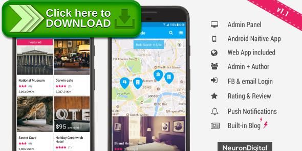 [ThemeForest]Free nulled download Ultimate City Guide App Template from http://zippyfile.download/f.php?id=56217 Tags: ecommerce, city app, city directory, city guide, city portal, find restaurants, local guide, near me, nearby places, place finder, places near, Places near me, tourist guide, tourist map, town app, travel guide