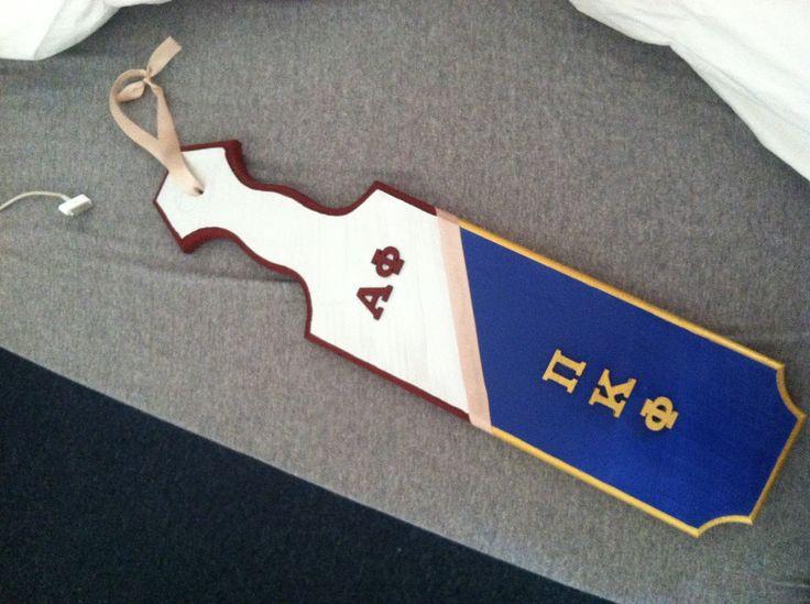Alpha Phi / Pi Kappa Phi boyfriend & girlfriend paddle