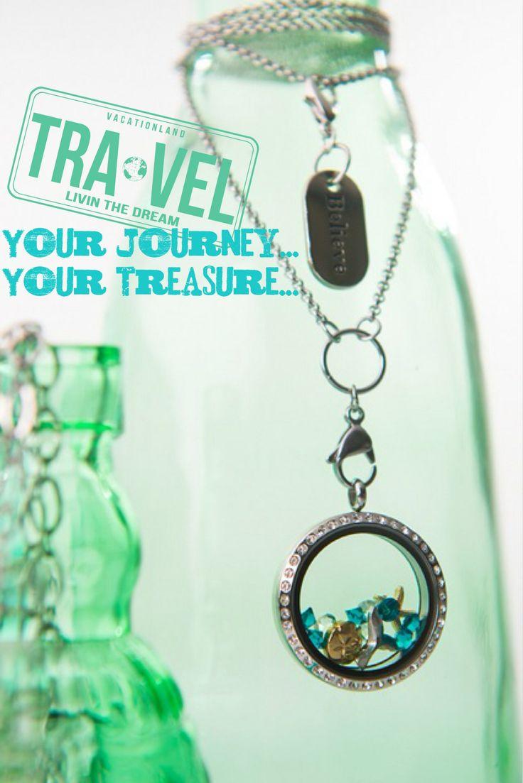 Wanderlust Lockets Your journey…Your Treasure