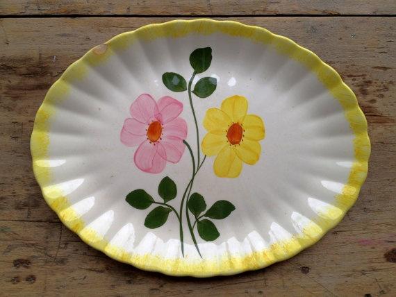 Blue Ridge Dinnerware #floral #flowers on #dinnerware china ceramic #etsy @Etsy & 104 best Blue Ridge images on Pinterest   Blue ridge Dishes and ...