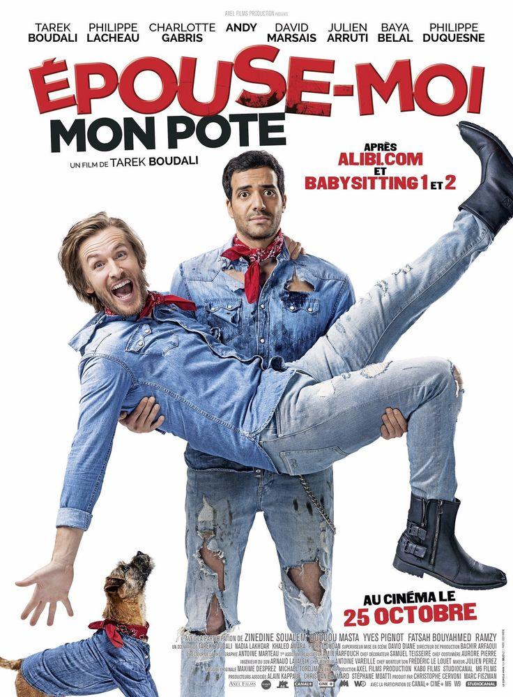 Toutes les informations sur Epouse-moi mon pote, film réalisé par  avec Tarek Boudali, Philippe Lacheau sorti en (2017)