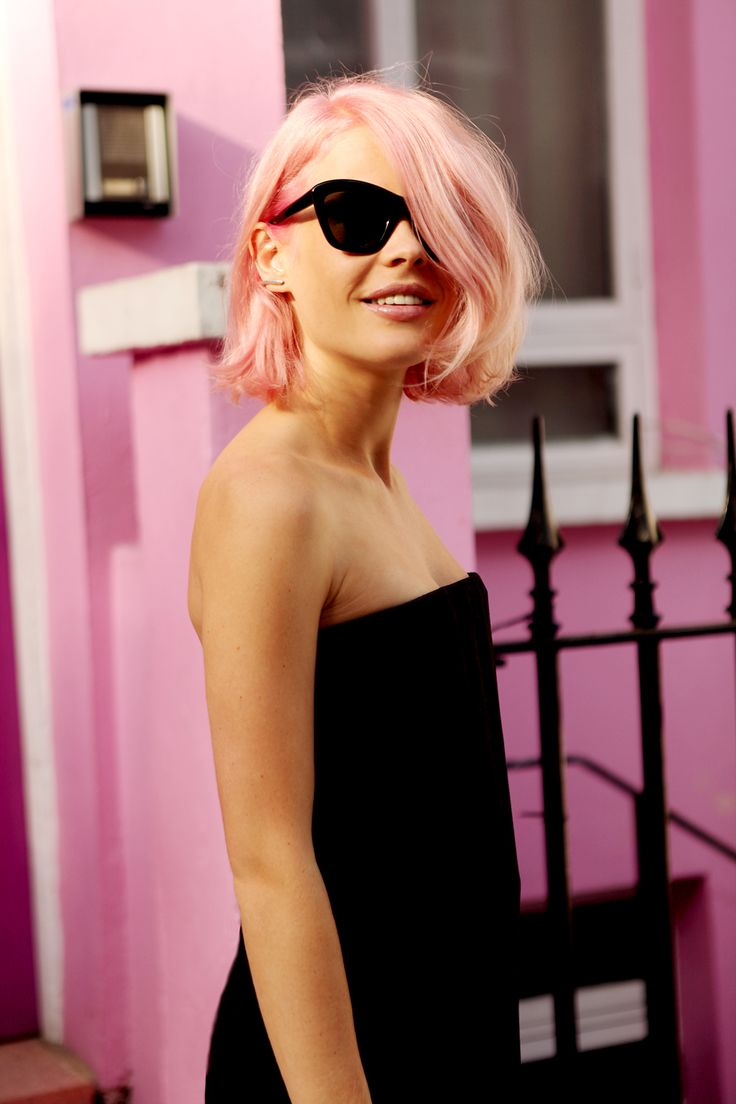Personal Style: Pink in Notting Hill for Vogue Australia