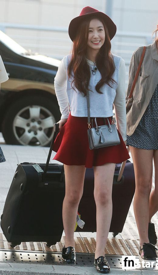 Airport Fashion Gfriend Kpopmap Airport Fashion Pinterest Airport Fashion Airports