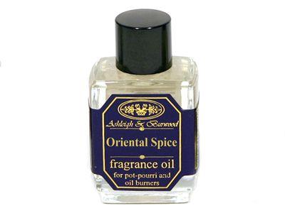 Αφυπνίστε τις αισθήσεις σας με το μεθυστικό άρωμα Oriental Spice της Ashleigh & Burwood. Το υπέροχο αυτό άρωμα συνδυάζει την κανέλα με αστεροειδή γλυκάνισο, το μοσχοκάρυδο και το γαρύφαλλο για χαλαρώση και να αναζωογόνηση του πνεύμα σας.