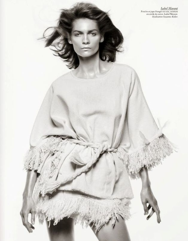 "Vogue Paris Feb 2015 | ""Studio Vogue"" by David Sims - Isabel Marant"