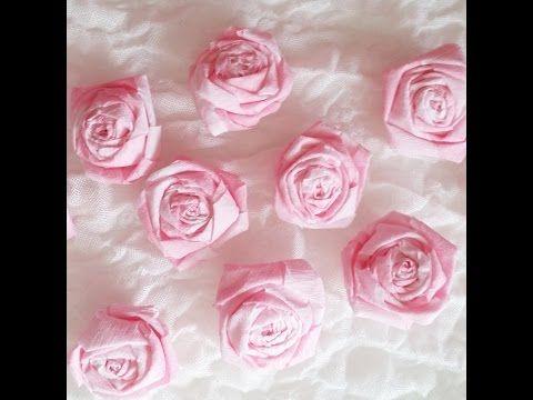 les 25 meilleures idées de la catégorie roses en papier crépon en