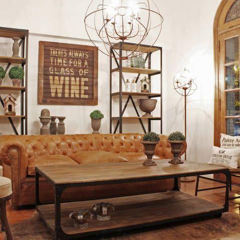 M s de 25 ideas incre bles sobre sillones de cuero en for Sillon chesterfield cuero