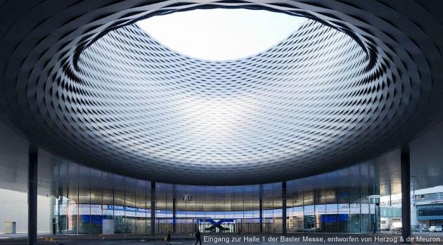 Messe Basel, Herzog & deMeuron