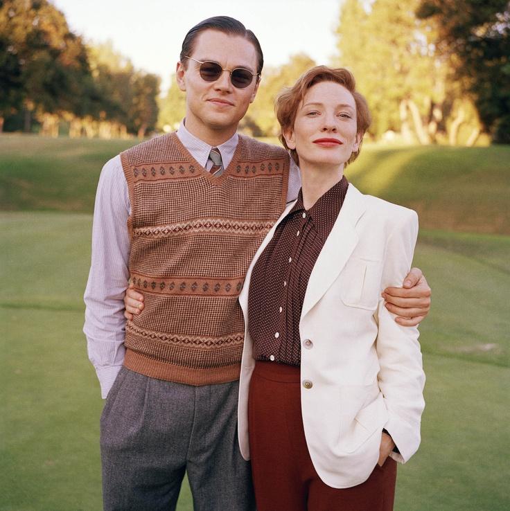 Leonardo DiCaprio & Cate Blanchett in The Aviator #movies #fashion