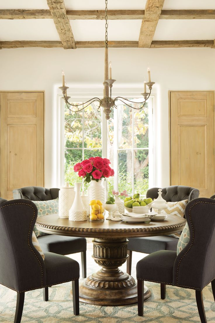 115 best Dining Rooms images on Pinterest | Dining room, Dining ...