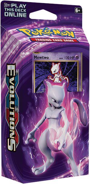 XY Evolutions Mewtwo Theme Deck   Pokemon   Pokemon Cards   Popcultcha