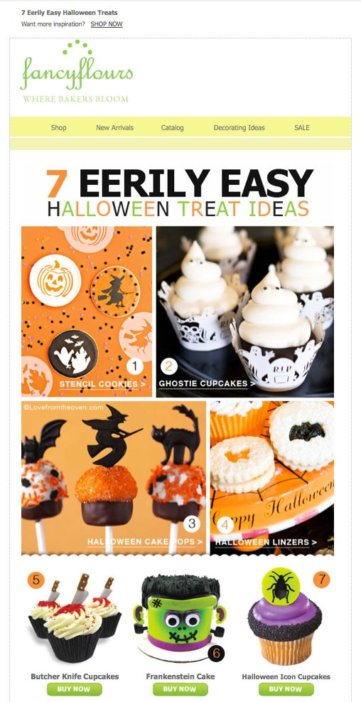 7 Eerily Easy Halloween Treats!    Subscribe to our email list http://eepurl.com/dBOc9
