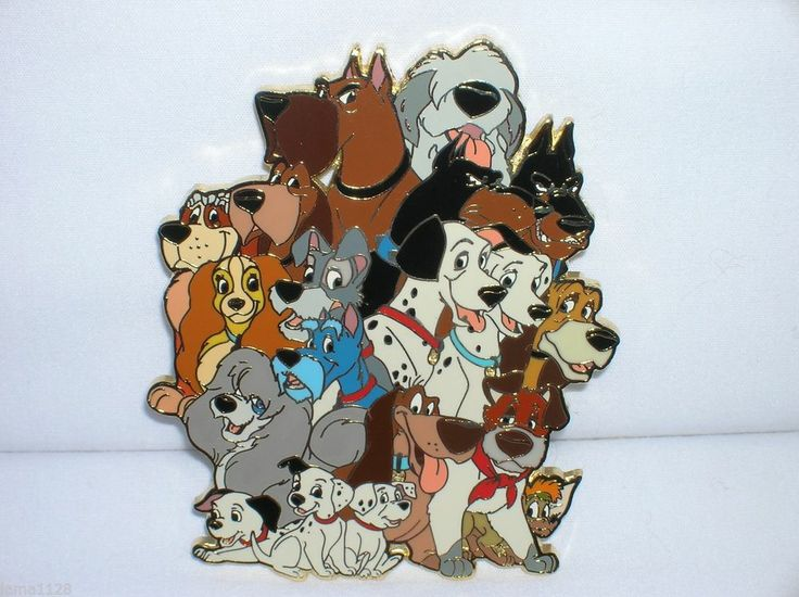 [62] Disney Dogs * Grouped All Together, sold for US$583.99 after 2 bids, April 2014