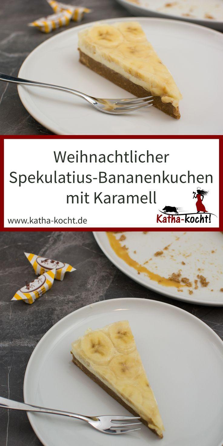 Weihnachtlicher Spekulatius Bananen Kuchen | Rezepte ...