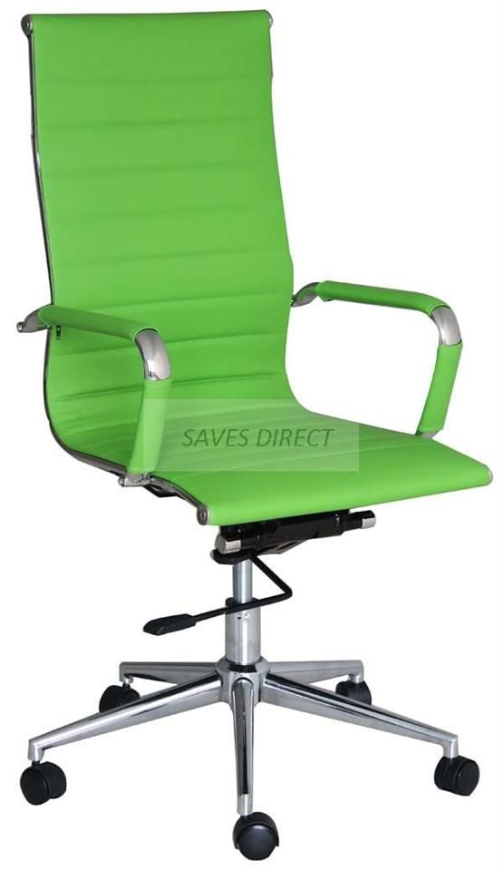 NEW STYLISH HIGH BACK DESIGNER EXECUTIVE SWIVEL COMPUTER OFFICE STUDY DESK  CHAIR | EBay
