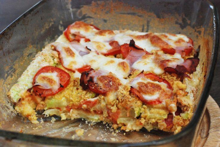 Fotorecept: Cuketové lasagne