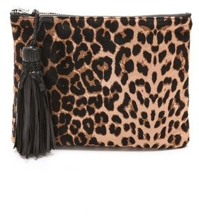 Simone camille Haircalf Clutch on shopstyle.com
