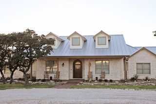 Cater Hill Country Ranch - traditional - exterior - austin - by Meier Custom Built Homes, LLC