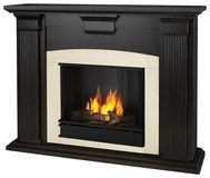 Real Flame - Adelaide Gel Fireplace - Blackwash