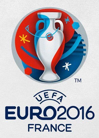 Football : le logo de l'Euro 2016 de foot
