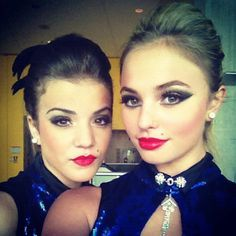 Riley (Brittany Raymond) and Michelle (Victoria Baldesarra) My two favourite dancers on the Next Step