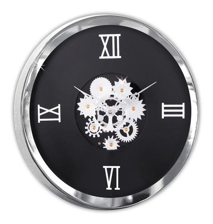 Meridyen Özel Lüks Duvar Saati Modeli  Ürün Bilgisi ;  Boyutu : 35 cm Ağırlık : 11,3 kg Mimar ve mühendislik için oldukça uygundur Bir Yıl Üretici Firma Garantilidir.  Metal Krom Çerçeve Gerçek cam