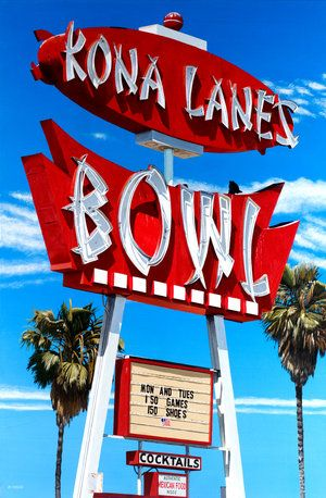 """Kona Lanes, Costa Mesa, CA.....I used to bowl on a league here in the """"seventies.""""  It's gone now!   ....Pat"""