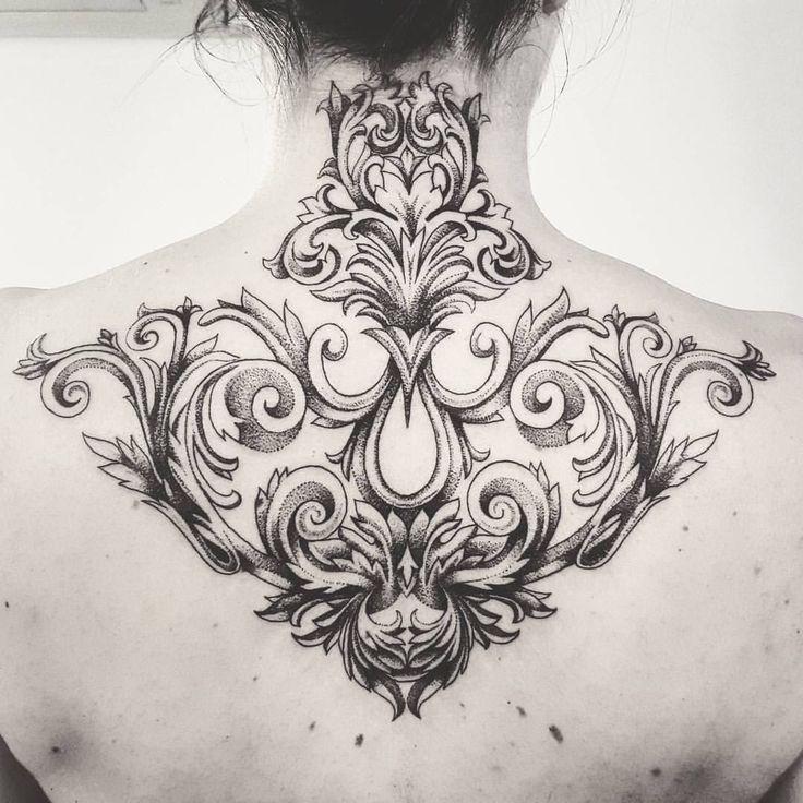My Ornemental and baroque tattoo @samanthadottori Lyon,France