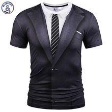 Mr.1991INC Marca T-shirt de Moda de Verano Falso de Dos Piezas Traje de Estilo Mujeres de Los Hombres Divertidos de Impresión de Manga Corta Camisetas(China (Mainland))