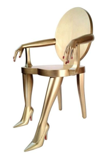 Relaxed Woman Chair