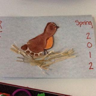 Image Result For Christopher Robin Handprint Art Bird FootprintFootprint CraftsInfant