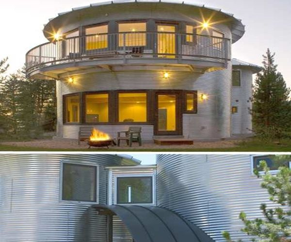 1000 images about grain bin homes on pinterest house for Silo house plans