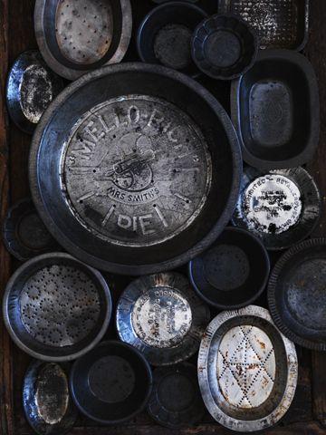 Vintage Pie Tins - William Meppem for Donna Hay Magazine