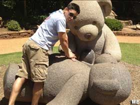 Tyler, TX - Big Teddy Bear Statues
