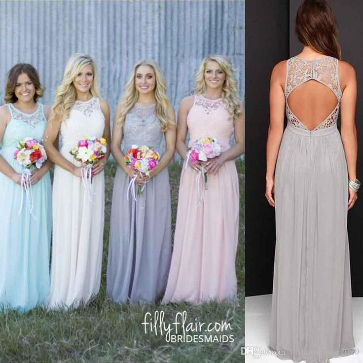 Cheap Grey Lace Country Bridesmaid Dresses Crew Neck Sexy Beach Bridesmaids Dress Long Wedding Party Dress Maid Of Honor Party Gowns Bridesmaid Dresses Country Bridesmaid Dresses Wedding Party Dress Online with $89.15/Piece on Fashionhouse2020's Store | DHgate.com