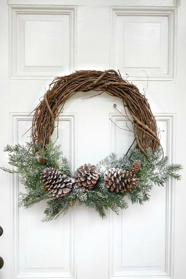 52 Beautiful Christmas Wreaths For Your Front Door Happily Ever After Etc Christmas Wreaths Christmas Wreaths Diy Christmas Centerpieces Diy Outdoor wreaths for front door