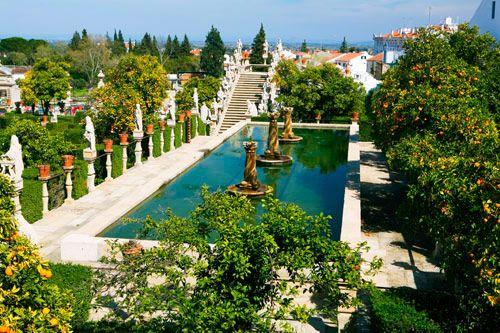 Jardins em Castelo Branco - Portugal