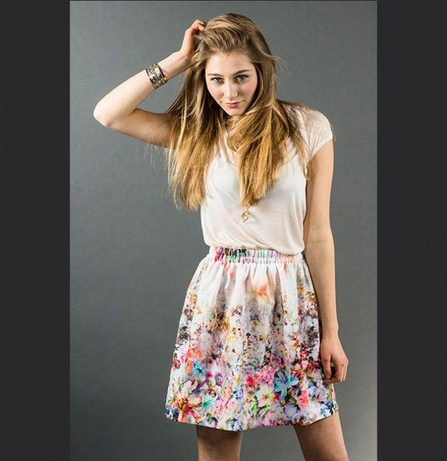 blaccbird spring skirt flowers   Blumenrock des Reutlinger Labels blaccbird Fashion made with love