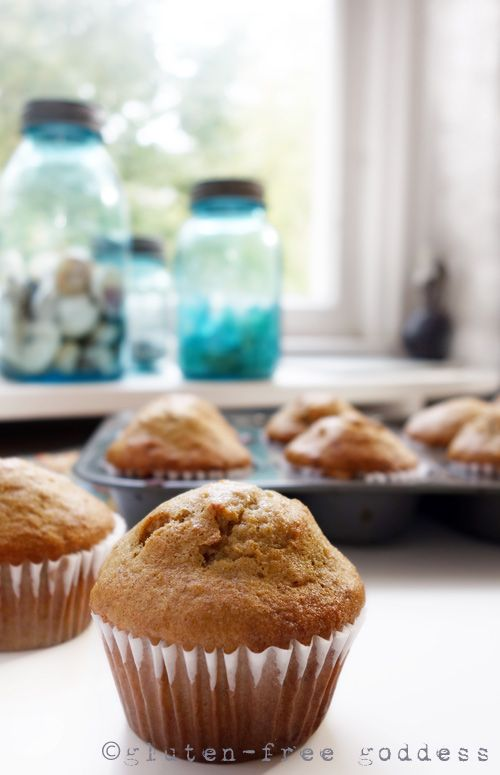 New gluten-free non-dairy banana muffins. Light, Lovely Banana Muffins With all the focus on...