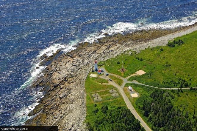 Western Head lighthouse [1962 - Liverpool, Nova Scotia, Canada]