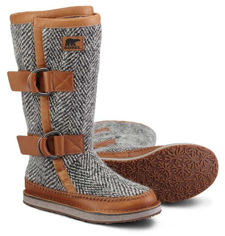 Sorel W13 NL1972 Womens Chipahko Wool Boot - Vejledende udsalgspris DKK 1.499,- #SOREL #SORELFOOTWEAR #SORELSTYLE