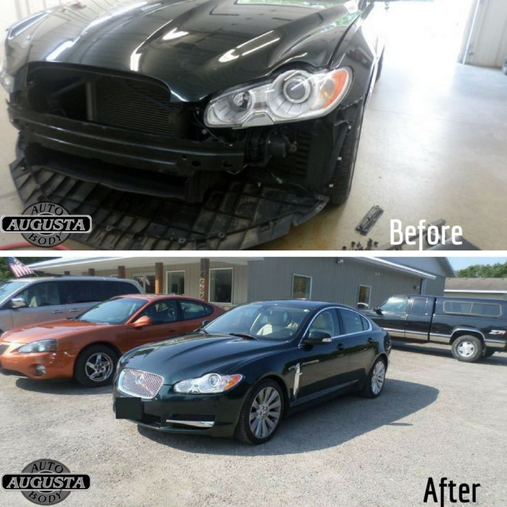 This 2009 Jaguar XF Premium was in for a bumper repair and we got this luxury vehicle looking better than it's stock photo with our state-of-the-art paint bay!