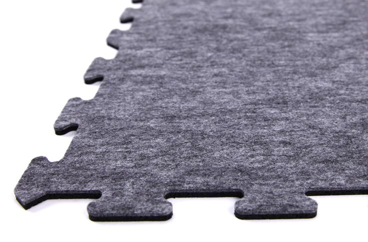 8mm Carpet/Rubber Tiles - Signature Series - Interlocking Rubber Backed Carpet Tile Squares
