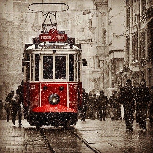 Winter in Istanbul... #winter #istiklal #snow #beyoglu #pera #istanbul #celinehotel #hotel #sultanahmet #turkey
