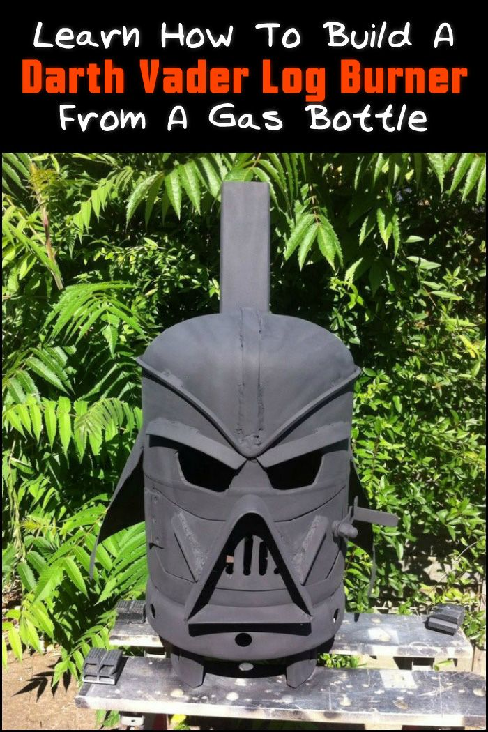 Star Wars fan or not, we believe this is one of the most impressive DIY log burners out there. Agree?