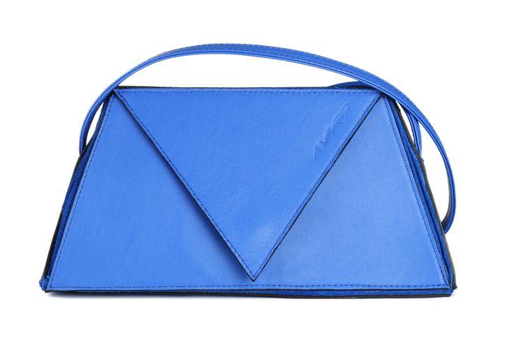 blue - blauw - handtas - handbag - www.awardt.be