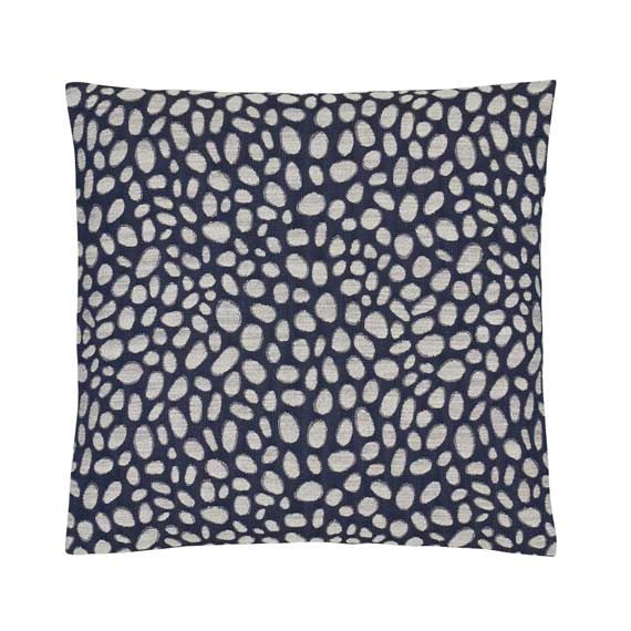 Pebbles Navy Cushion 58cm x 58cm desktop.info.alt_image