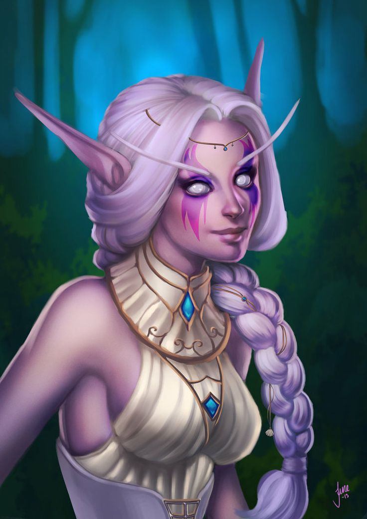 nude night elf art