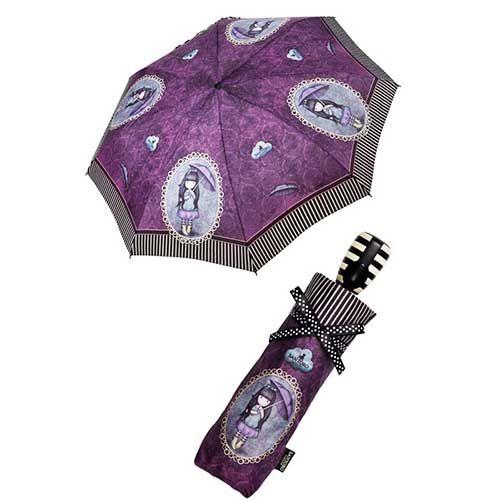 Santoro gorjuss Ομπρέλα σπαστή αυτόματη My umbrella
